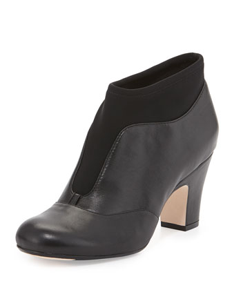 Tavie Stretch-Inset Ankle Boot