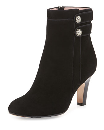 Tatum Double-Button Bootie