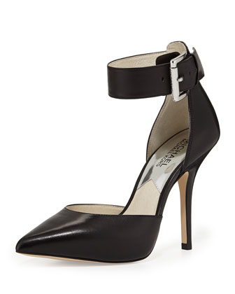 Brinkley Ankle-Strap Pump