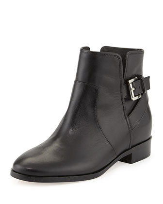 Salem Leather Bootie