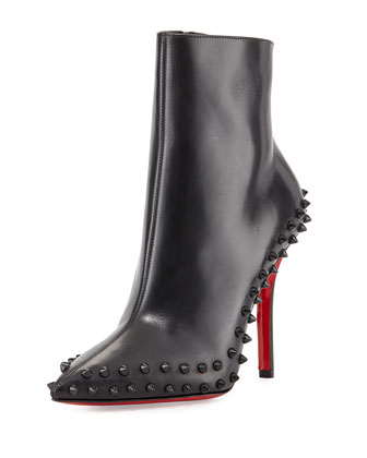 Willetta Spiked Red Sole Bootie