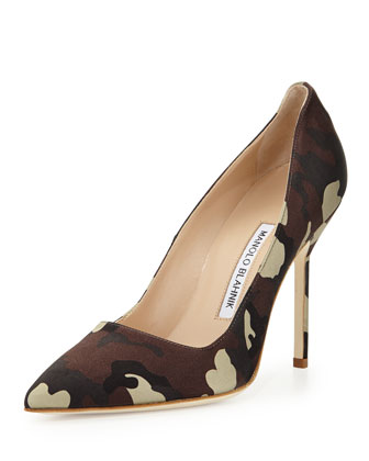 BB Satin 105mm Pump, Camo (Made to Order)
