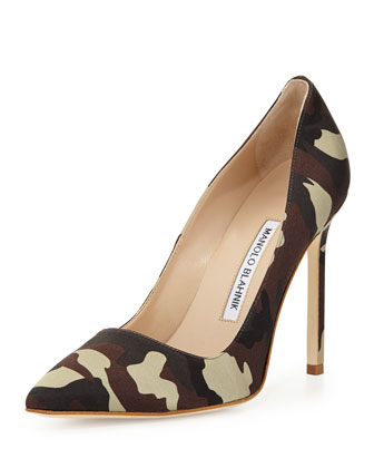 BB Satin 115mm Pump, Camo (Made to Order)