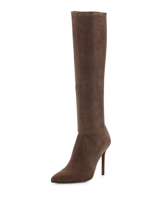 Benefit Stretch Suede Boot, Funghi