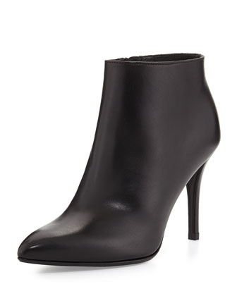 Carltone Leather Bootie, Black