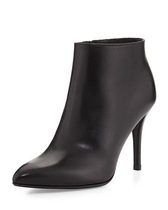 Carltone Leather Bootie, Black
