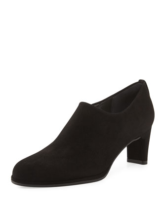 Cover Suede Bootie, Black