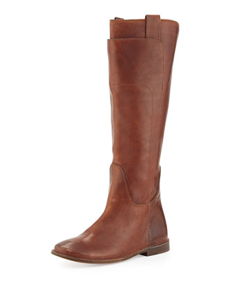 Paige Tall Riding Boot, Cognac
