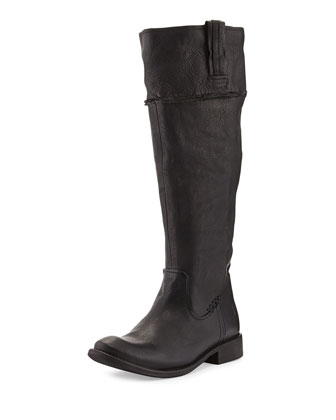 Shirley Artisan Tall Boot, Black