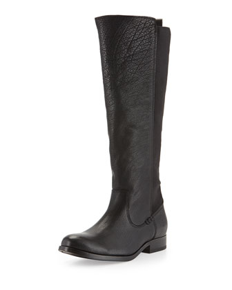 Molly Stretch-Back Tall Boot, Black