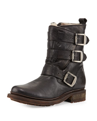 Valerie Shearling-Lined Boot