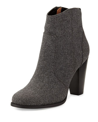 Dalton Wool Ankle Boot