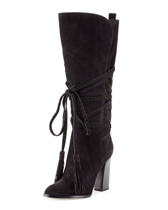Jessa Wrap-Around Tassel Boot