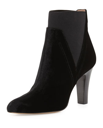 Hyde Velvet Ankle Boot