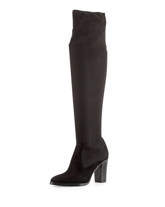 Joan Suede Over-the-Knee Boot