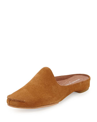 Bobbi Casual Suede Slide, Camel