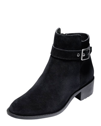 Indiana Waterproof Ankle Boot, Black