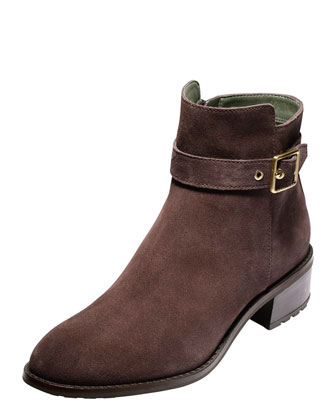 Indiana Waterproof Ankle Boot, Chestnut