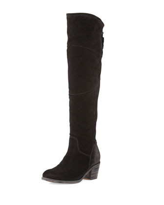 Circio Tall Knee Boot, Nero