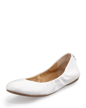 Molly Slip-On Nappa Flat, White