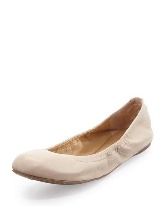 Molly Slip-On Nappa Flat, Parfait
