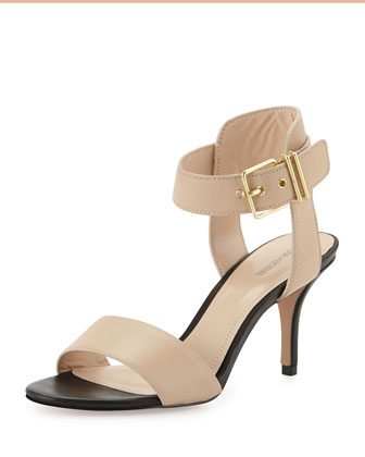 Quin Single-Band Sandal, Natural