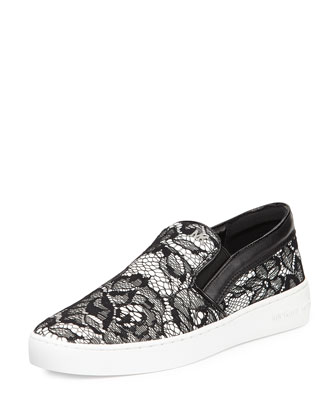 Philippa Lace Slip-On Skate Shoe