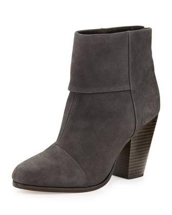 Newbury Nubuck Ankle Boot, Slate