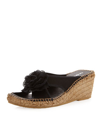 Rockie Canvas Slide, Black
