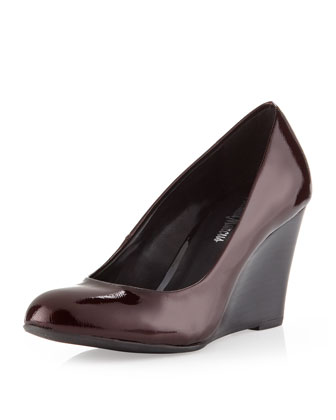 Biba Patent Wedge Pump, Black