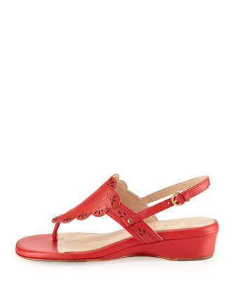 Kingston Thong Sandal, Coral