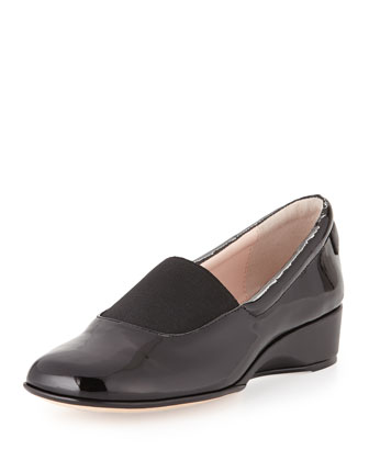 Kendall Patent Loafer, Black