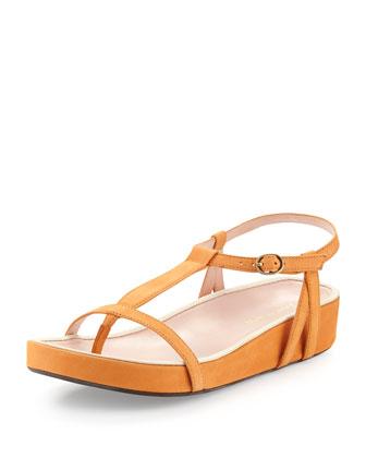 Amor Nubuck Thong Sandal, Fanta