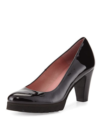 Glaze Patent Tread Pump, Black