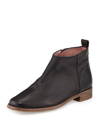 Gloria Leather Ankle Boot
