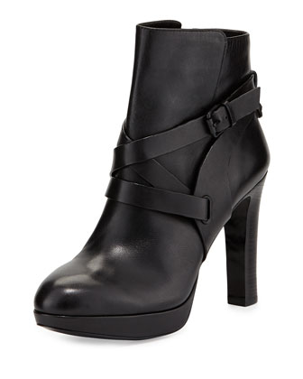 Fantasio High-Heel Bootie, Nero