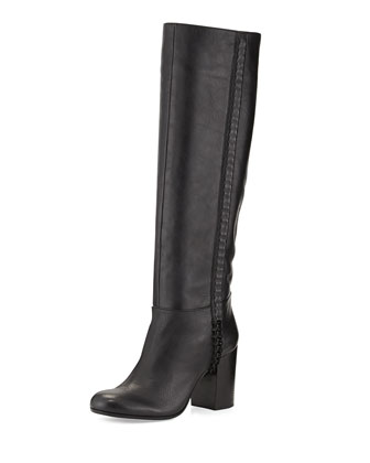 Kisha Tall Leather Boot