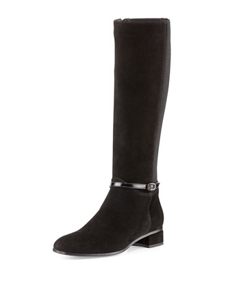 Liberty Ankle-Strap Knee Boot