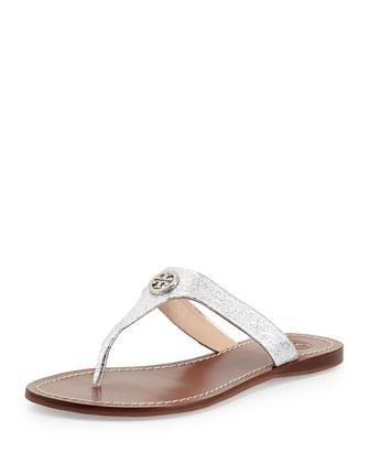Cameron Logo Thong Sandal, Palladium