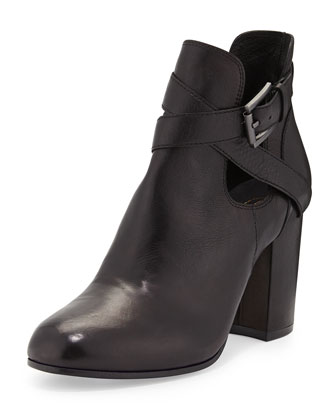 Famous Crisscross Ankle Boot