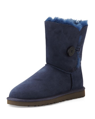 Bailey Button Short Boot, Navy