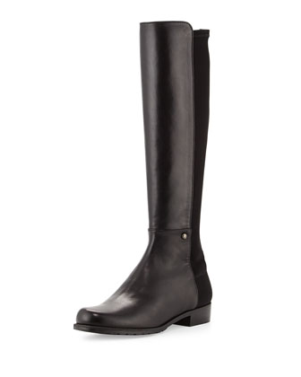 Coast Mezzamezza Suede Knee Boot, Black (Made to Order)