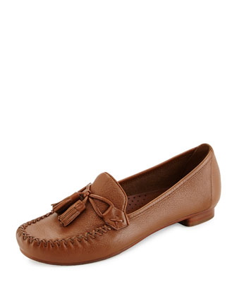 Farrah Leather Moccasin, Woodbury
