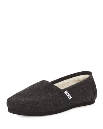 Classic Wooly Fleece-Lined Slip-On