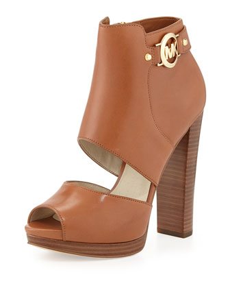 Wyatt Open-Toe Bootie