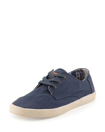Paseos Classic Canvas Sneaker, Navy