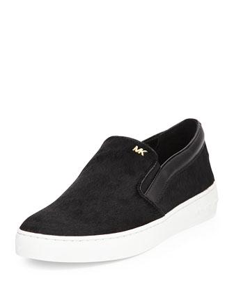 Keaton Calf Hair Slip-On Sneaker