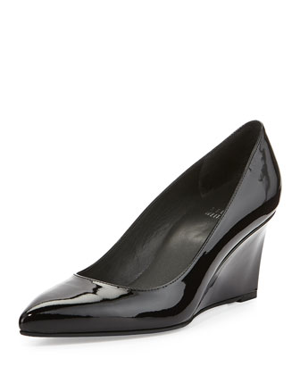 Nova Patent Wedge Pump, Black