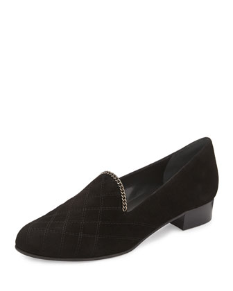 Hallmark Chain-Trim Loafer