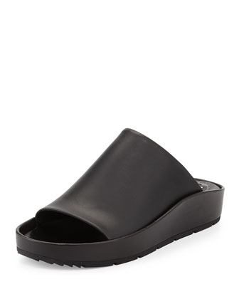 Chunky Leather Mule